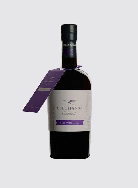 """Lufth. Cocktail Lufthansa Cocktail """"Old Fashioned""""- Der Cocktails aus der Flasche"""