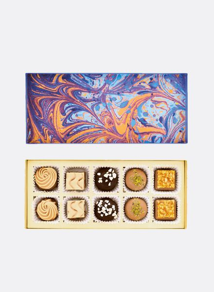 "Sawade Box of Chocolates ""Nougat""- fine pralinés, truffles & chocolate specialties from Berlin"