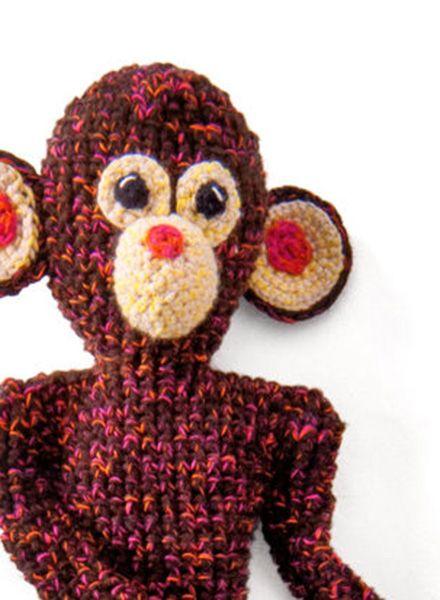 "Teeny Tini Soft toy ""Monkey Foebes"" - made of organic yarn in Berlin, Germany"