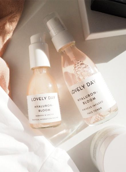 "Lovely Day Face Toner ""Hyaluron + Bloom"" - Suitable for all skin types"