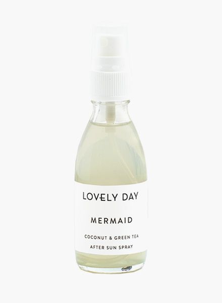 "Lovely Day After Sun Spray ""Mermaid"" - Regenerate irritated skin after sunbathing"