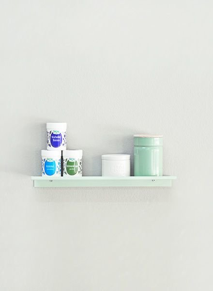 "Kolor Wall shelf ""Z-shelf mint"""