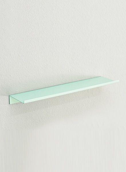 "Kolor Wall shelf ""Z-shelf"" - Shelf mint powder coated"