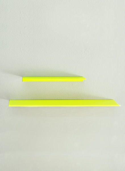 """Kolor Wall shelf """"Z-shelf"""" neon"""