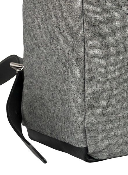 "Sarah Johann ""Pajala #2"" Grey - Backpack made of water resistant Italien canvas"