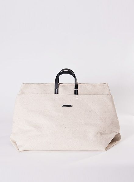 Hänska Light beige linen bag for weekend trips - also wearable as backpack