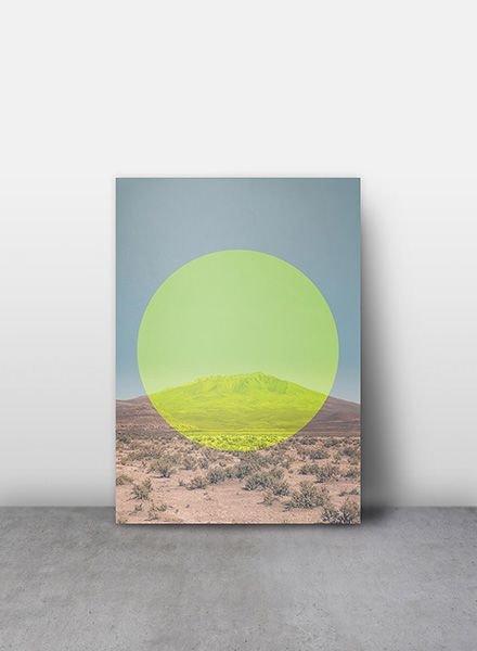 "Mania Poster ""Salar de Uyuni"" Gelb"