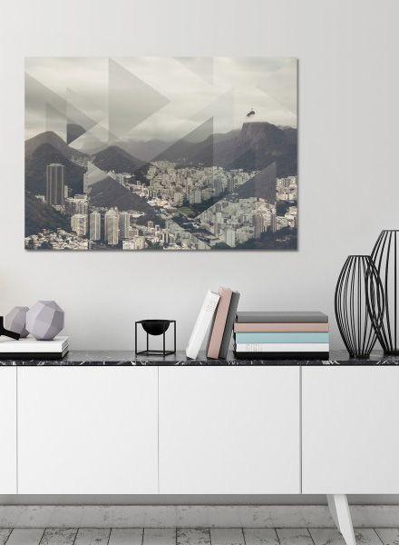 """Mania Poster """"Landscapes Scattered 2 Pan de Azucar"""" - Moderner Kunstdruck"""