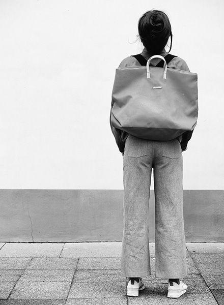 Hänska Tasche aus robustem Netzfabrikat für Wochenendausflüge - auch als Rucksack tragbar