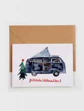 """Gretas Schwester Christams card """"Fröhliche Weihnachten"""""""