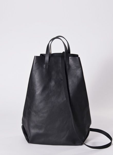 "Hänska Backpack ""Leather black"""