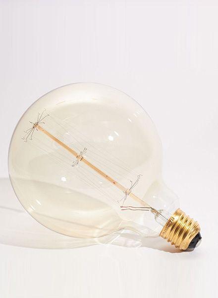 Edison Glow Table Lamp Wilson Cube - Handmade of massiv wood