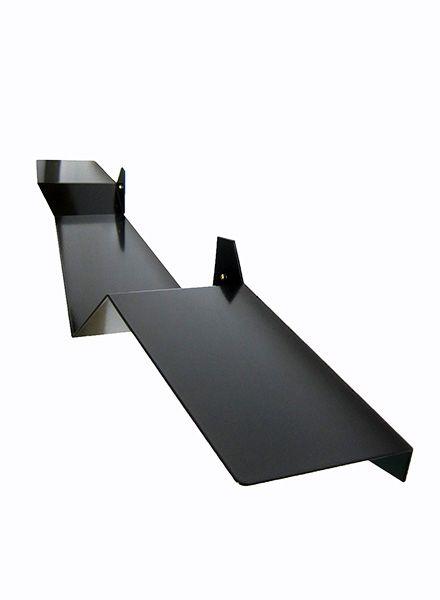 """Lalupo Shelf """"Plateau"""" - made of a folded aluminium plate"""