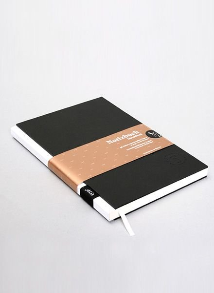 "Tyyp Notebook ""Berlin Book"" Black-White"