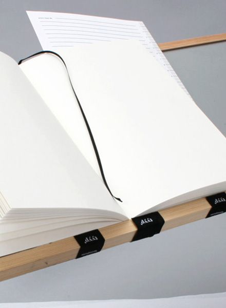 "Tyyp Notebook ""Berlin Book"" B/ White - Handmade in Berlin"