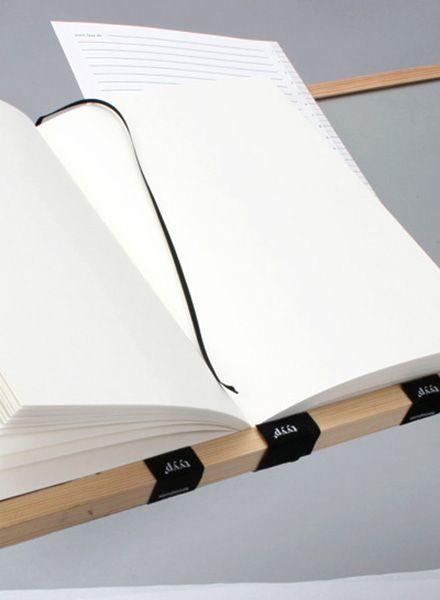 "Tyyp Notizbuch ""Berlin Book"" G/Black - Handgearbeitet in Berlin"