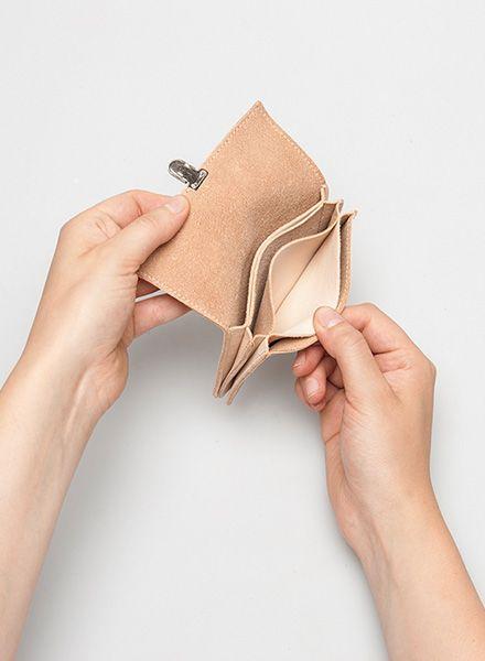 Hevan Geldbeutel aus hochwertigem natur Leder - handgefertigt