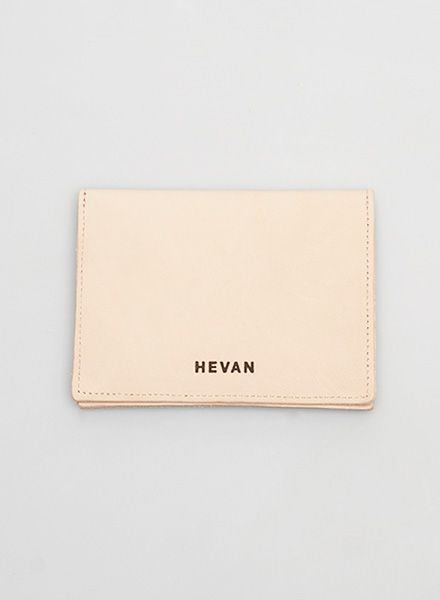 Hevan Wallet made of high quality nature leather - handcrafted