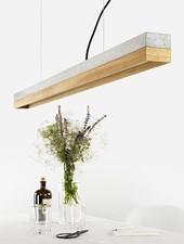 "GANTlights Lamp concrete ""C1"" lightgrey"