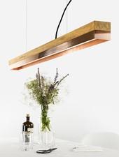"GANTlights Pendant Lamp ""C1o"" oak"