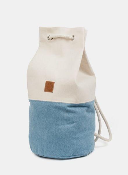 "Marin et Marine Backpack ""Sac Marin"" Denim"
