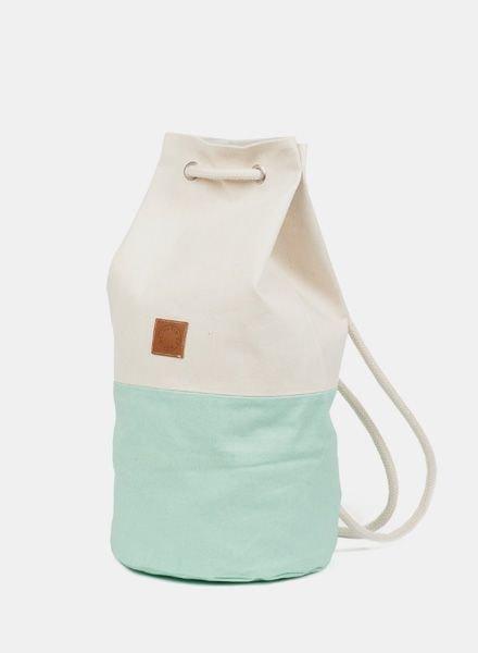 """Marin et Marine Backpack """"Sac Marin"""" Mint"""