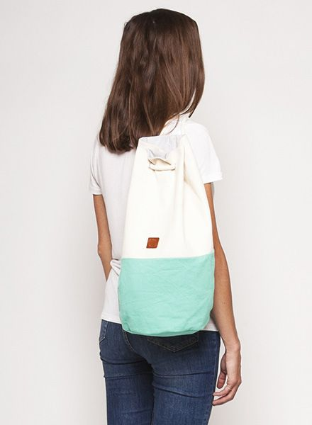"Marin et Marine Maritime duffel bag ""Sac Marin"" made of 100% organic cotton - Copy"