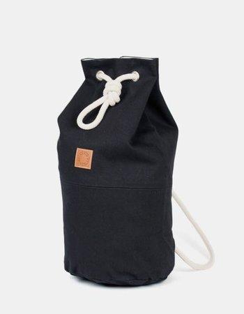 """Marin et Marine Backpack """"Sac Marin"""" Black"""