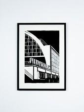 """Blackout Cities Poster """"Alexanderplatz"""""""