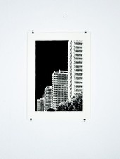 "Blackout Cities Poster ""Leipziger Strasse"""