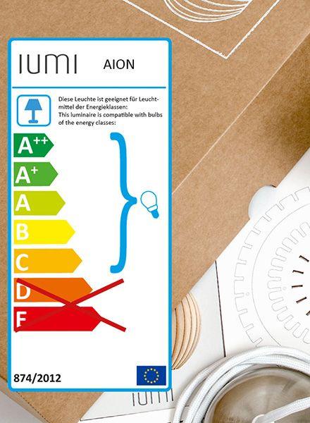 """IUMI Hängeleuchte """"Aion"""" - Aus Birkenholz in 6 verschiedenen Farben"""