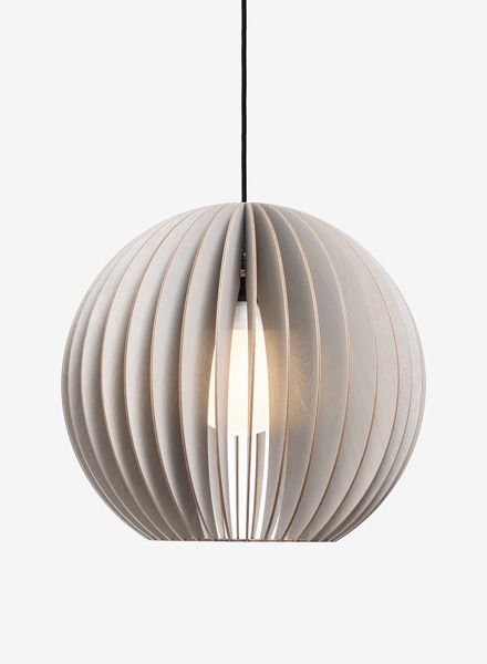 "IUMI Pendant lamp ""Aion L"" - made of birch plywood in 6 colours"