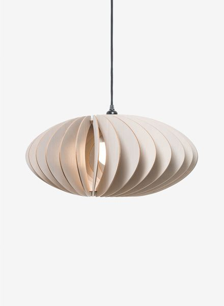 "IUMI Pendant lamp ""Nefi"" - made of birch plywood in 6 colours"