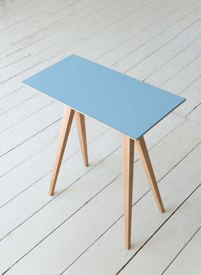 "Alex Valder Table ""Tischle 640"" - Table made of beech wood and laminate board"