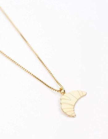 "Jukserei Necklace ""Croissant"" Gold"