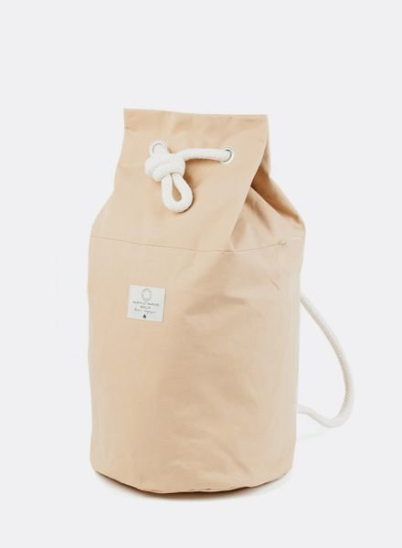"Marin et Marine Backpack ""rainbag"" nude"