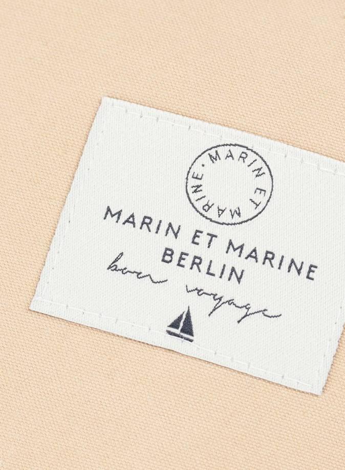 """Marin et Marine Rucksack """"Rainbag"""" nude - Robustem, wasser- und schmutzabweisend Baumwollstoff"""
