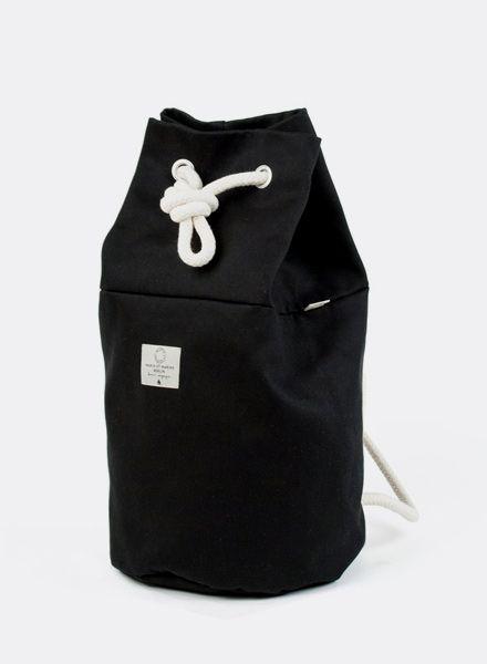 """Marin et Marine Rucksack """"Rainbag"""" schwarz - Robustem, wasser- und schmutzabweisend Baumwollstoff"""