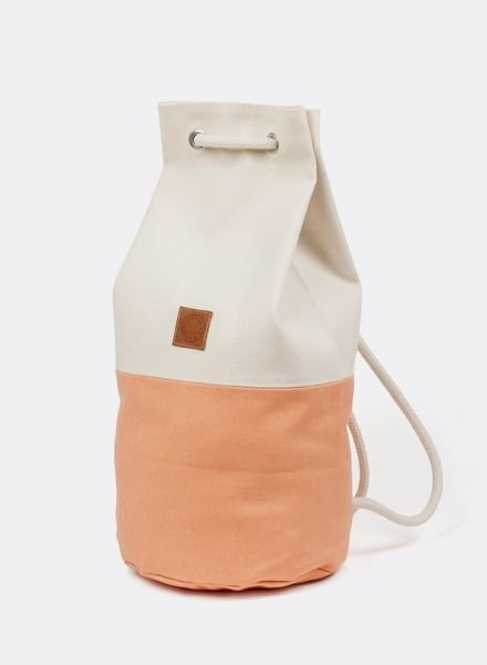 "Marin et Marine Backpack ""Sac Marin"" Peach"