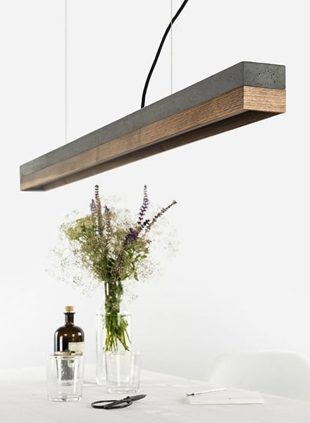 "GANTlights Lamp concrete ""C1"" darkgrey"