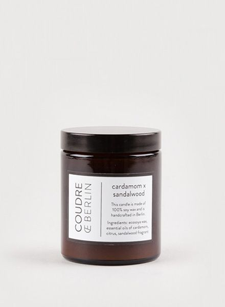 "Coudre Berlin Scanted candle ""Coudre Berlin"" - Free of genetically modified materials"