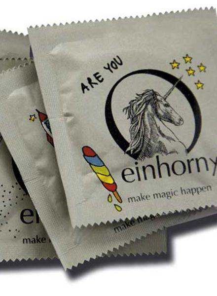 """Einhorn Products Kondome Einhorn """"Wald""""- Fair produziert und großartig im Design"""