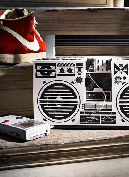"Berlin Boombox Berlin Boombox ""Wireless"" White - Mobile speaker with bluetooth"
