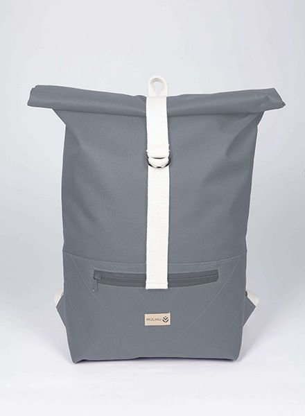 "MULINU Backpack ""Classic Albert"" Grey"