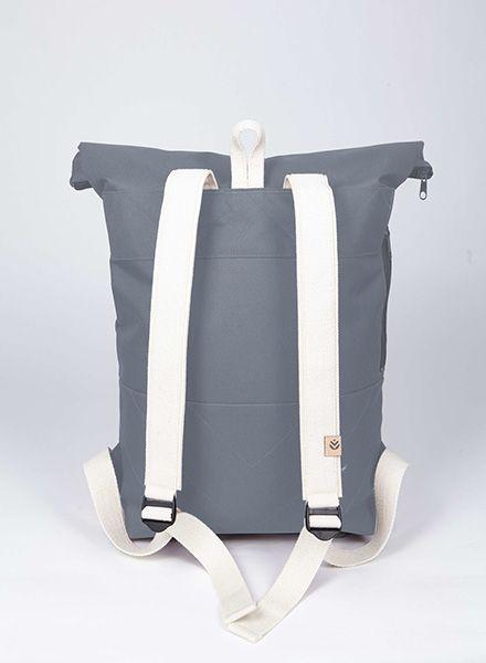 "MULINU Rucksack""Classic Albert"" Grey - Made of waterproof & durable Cordura fabric"