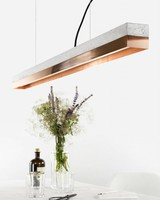 "GANTlights Lamp concrete ""C1"" copper"
