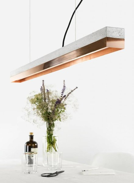 "GANTlights Lamp concrete ""C1"" copper"