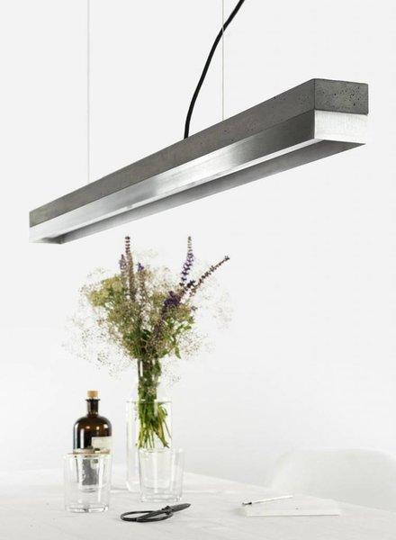 "GANTlights Lamp concrete ""C1"" dark /Stainless steel"