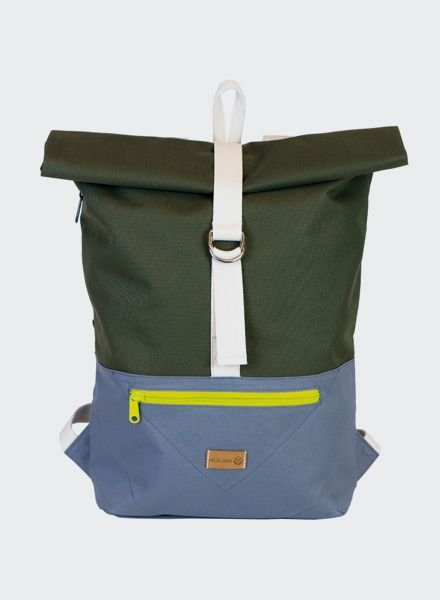 "MULINU Backpack ""Classic Albert"" Grey - Khaki"