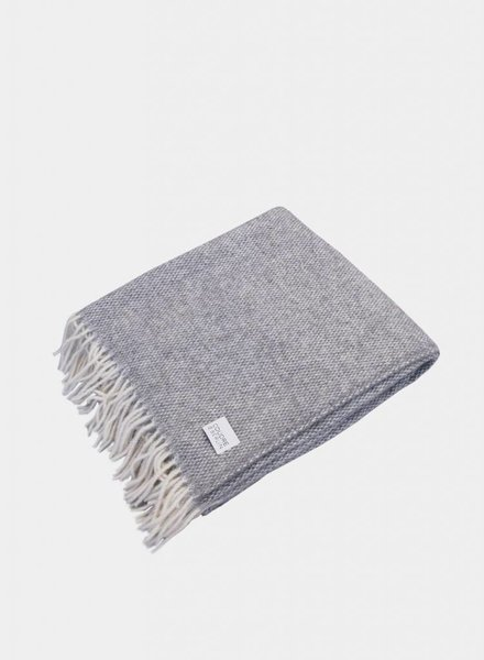 "Coudre Berlin Blanket ""Pick Stitch"" Grey"
